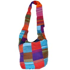 Astonishing Designer Exclusive MultiColor MultiPurpose Patch Work Bag. Available at INR 488