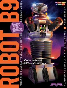 MOEBIUS MODELS 939 LIS Robot From the classic TV series Lost in Space and Moebius Models comes the supreme model kit of the beloved robot. Plastic Model Kits, Plastic Models, B9 Robot, Robots, Kids Climbing, Retro Robot, Sci Fi Models, Black Friday Specials, Thing 1