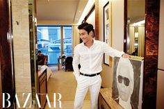 SIWON AT THE CHANEL CRUISE 2013/14 FASHION SHOW IN SINGAPORE - Harper's Bazaar
