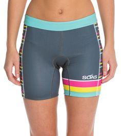 SOAS Racing Women's Triathlon Shorts at SwimOutlet.com - Free Shipping
