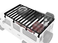 Land Rover Defender 110 Roof Rack (Full Cargo Rack) - Front Runner Slimline II | Roof Racks | Front Runner | Brands - Paddock Spares