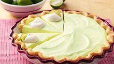 cheesecake με ζύμη τάρτας και lime #pie #Pillsbury