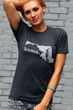 The Home. T - Maryland Home T, $28.00 (http://www.thehomet.com/maryland-home-t-shirt/).A portion of the proceeds go to Multiple Sclerosis research!!