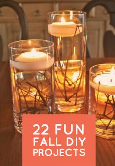 Whether it's by creating your own DIY decorations or by lighting some candles in fall-themed scents, there are plenty of ways to ring in everyone's favorite sweater-friendly season from the comfort of your own home.