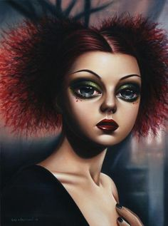 surrealism paintings by Sas Christian (f)  http://www.justart-e.com/sas-christian.html