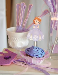 Princess Party - SPOONS - Girls Birthday Party - Purple Princess Party -  Fancy Spoons on Etsy, $12.00