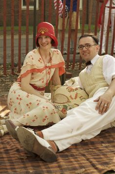jazz age garden party outfits
