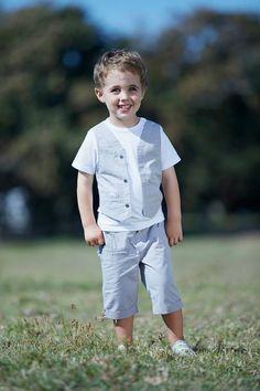 #GrainDeBlé #littleboy#chic #White #kids #garden #nature #fashion #ss15 #spring #party #summer www.zgeneration.com/it/