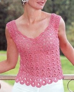 Tina's handicraft : crochet shirt