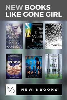 We compiled a list of recommendations for the best new books to read if you like Gone Girl. Find your next favorite psychological thriller!
