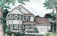 View our numerous modular home floor plans and elevations, like this Hawthorne.