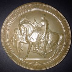 Great Seal of Victoria, Queen of Great Britain, Defender of the Faith.  1837