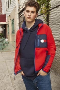 Stand up, stand out. The new Tommy Jeans 4.0 as seen in Brooklyn, NY by @hypebeast.