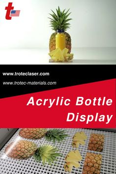 We made this eye-catching bottle display on a Speedy 360 80W. Follow the link for a step-by-step tutorial! #troteclaser Trotec Laser, Bottle Display, Diy, Food, Bricolage, Essen, Do It Yourself, Meals, Homemade