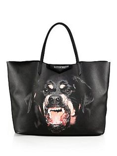 Givenchy Rottweiler Medium-Print Shopper Tote Totally WANT!!!