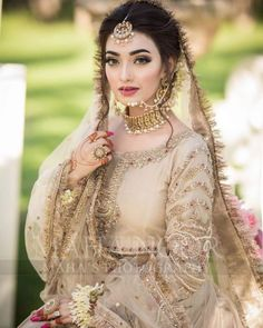 Asian Bridal Dresses, Pakistani Wedding Outfits, Indian Bridal Outfits, Pakistani Wedding Dresses, Wedding Dresses For Girls, Nikkah Dress, Pakistani Bridal Hairstyles, Pakistani Bridal Makeup, Bridal Makeover