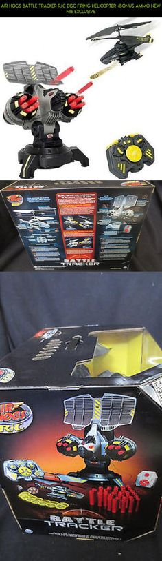 Air Hogs Battle Tracker R/C Disc Firing Helicopter +Bonus Ammo NEW NIB Exclusive #parts #shopping #gadgets #battle #technology #fpv #plans #racing #tech #kit #hogs #drone #camera #air #tracker #products