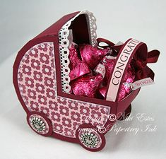 free baby carriage template from niki estes