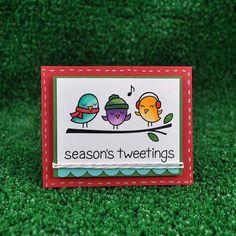 lawn fawn season's tweetings - Google Search