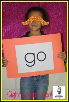 Smedley's Smorgasboard of Kindergarten: Awesome idea to get the kiddos learning their sight words
