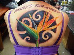 flower bird of paradise idea