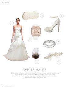 White Haute #inspiration #ideas #weddingideas #weddinginspiration