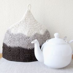 Colour Block Felted Wool Tea Cosy by mariavalles on Etsy, $98.00