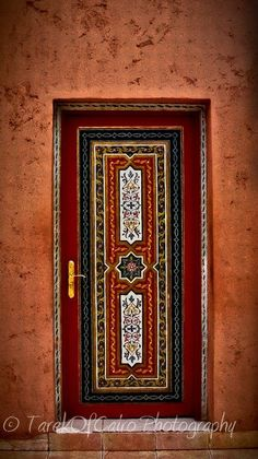 Door From Marrakesh. That is some really intricate painting, but wrong colors for me.