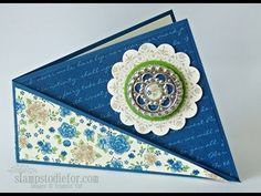 Twisted Card Stamping Fun Fold Video