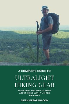 Ultralight hiking gear list for beginners or experienced hikers. A lightweight backpacking gear list is the first start to helping reduce the weight you carry when on multi day hikes. Backpacking Gear List, Best Hiking Gear, Thru Hiking, Hiking Tips, Ultralight Backpacking, Day Hike, Outdoor Fun, Trekking, Adventure Travel