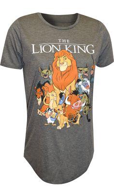 WebUndies.com Disney Lion King The Whole Pack Tee Shirt Lounge Pants, Lounge Wear, Lion King Shirt, Best Pajamas, Disney Lion King, Tee Shirts, Tees, Gray Background, Hakuna Matata