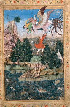 The Aga Khan Museum: Arts of the Book: Illustrated Texts, Miniatures - Mughal, c.1590 CE