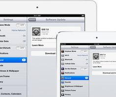 iOS 7, the newest edition of Apple's cellular os, is now available for obtain. The upgrade can be set up on any suitable iPhone, iPad, or iPod.