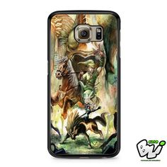 The Legend Of Zelda The Majora Mask | Samsung Galaxy S7 Case | Material : Hard Plastic and Rubber | Color : Black,White,Transparent