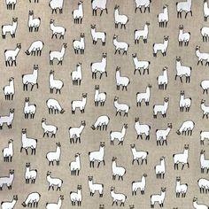 Alpacas Linen Look Canvas Fabric Alpacas, Canvas Fabric, Cotton, Style, Swag, Burlap Fabric, Outfits