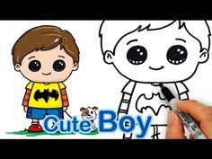 How Draw a Cute Boy Easy