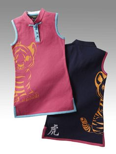 Shanghai Tang Limited Edition - Save China's Tigers sleeveless dress