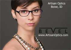 A minimalistic and modern design.  Bevel Eyewear