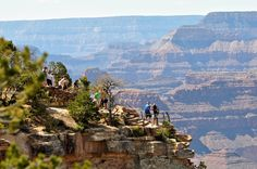 JD's Scenic Southwestern Travel Destination Blog: The Grand Canyon South Rim ~ Yavapai Point & Mather Point!
