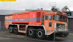 Faun-Flughafen-Löschfahrzeug