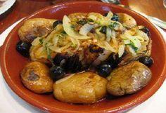 Bacalhau à Lagareiro #CozinhaPortuguesa, #PratosdePeixe, #Refeições