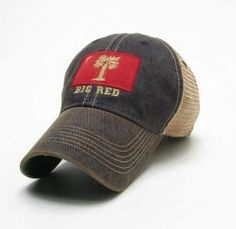 7107faf567bc9 The Citadel Big Red Flag Legacy Old Favorite Adjustable Mesh Hat Legacy  Hats