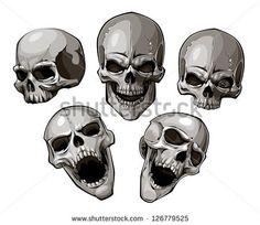 Risultati immagini per skulls