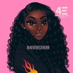 cartoon yourself procreate - cartoon yourself procreate . how to cartoon yourself procreate Art Black Love, Beautiful Black Girl, Black Girl Art, Black Girls Rock, Black Girl Magic, Black Art Painting, Black Artwork, Drawings Of Black Girls, Black Girl Cartoon