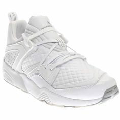 """PUMA MEEK MILL BIKE LIFE BLAZE OF GLORY MEN'S SNEAKERS (12). The style name is Blaze of Glory. The style number is 362204 02. Brand Color: Puma White (Main Color: White). Material: Canvas. Measurements: 0.5"""" heel. Width: D(M)."""