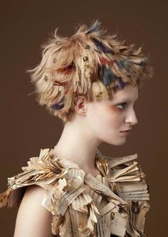 Pin by Tatum Barnes on hair! and HAIR! Creative Hairstyles, Cool Hairstyles, Avant Garde Hair, Corte Y Color, Editorial Hair, Hair Reference, Hair Shows, Crazy Hair, Bad Hair