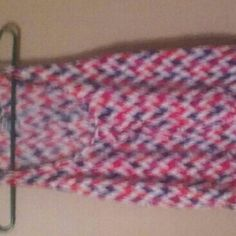 Pink n purple chevron stripe tank blouse Pink n purple chevron stripe tank blouse Tops Tank Tops