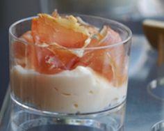 Verrines de brouillade au jambon de parme (facile, rapide) - Une recette CuisineAZ