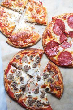 Five-Minute Pita Pizzas