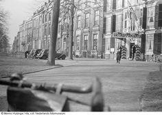 De Ortskommandantur van de nazi's, in gebruik genomen aan het Lange Voorhout te Den Haag, (1940-1945)